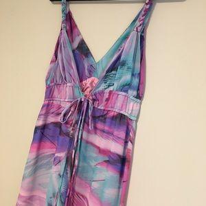 Charlie Jade marble maxi dress
